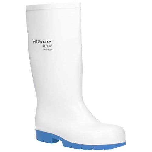 Dunlop Acifort Classic+ Safety Wellingtons White